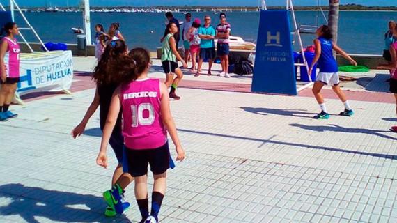 Islantilla y La Antilla, escenarios este fin de semana de la doble cita del Circuito 3×3 de Baloncesto de la Diputación