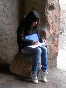 Esta historiadora de Huelva ha realizado la primera monografía sobre las calles de la ciudad.