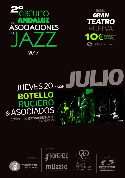 El Gran Teatro acoge un concierto de jazz vocal del Circuito Andaluz de Asociaciones de Jazz