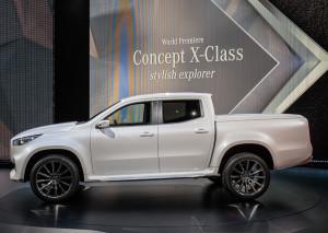 Mercedes-Benz clase X lse pondrá a la venta a partir de noviembre próximo.