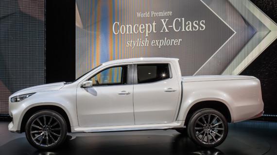 Mercedes Benz introduce la concepción premium en el 'territorio pickup'