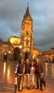 El moguereño reside en Oviedo para poder desarrollar su labor de investigación en el centro.