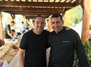Garcés ha trabajado con algunos de los mejores chefs.