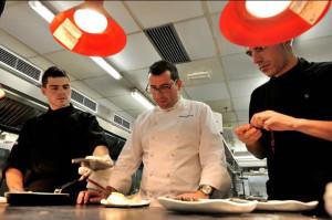 Durante dos años dirigió el restaurante de Berasategui en Paseo de Gracia.