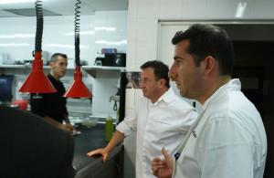 Bilbao, Barcelona, Málaga, Tenerife, Londres... El periplo culinario de Garcés es muy extenso.