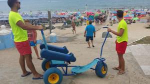 Vehículos para personas con movilidad reducida.