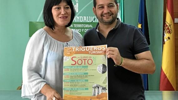 Vuelve al Dolmen de Trigueros el programa estival 'Verano en Trigueros, Las Lunas de Soto'