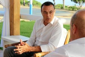 Ignacio Caraballo, presidente de la Diputación Provincial de Huelva y del Patronato de Turismo. / Foto: Laura Cebrino.