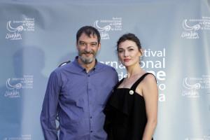 Presentadores de la Gala: Marta Nieto y Jacobo Dicenta.