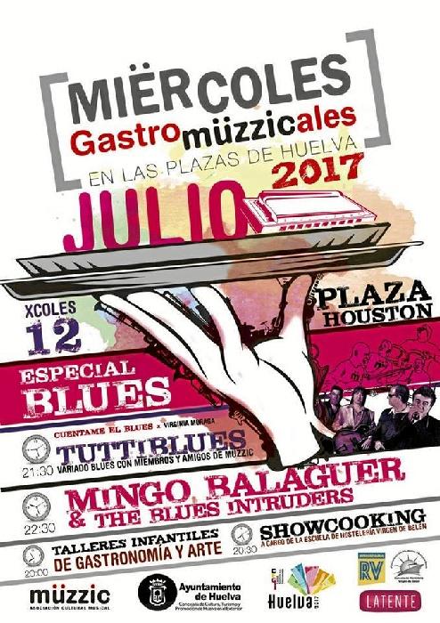 Cartel de la cita que se celebrará en Isla Chica el próximo miércoles 12 de julio.