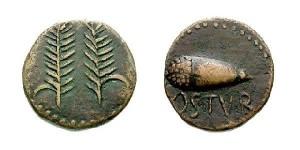 Monedas de la ciudad romana de Ostur. / Foto: villalbadelalcor.es