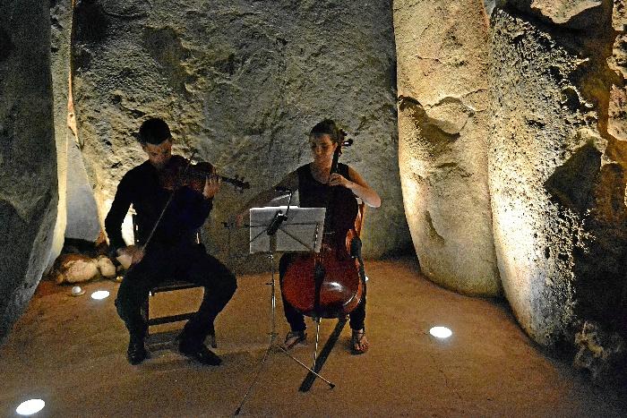 El pianista José Luis Nieto llevará la música al Dolmen de Soto el próximo 4 de agosto