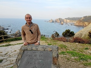 Manuel Fernández es un joven moguereño que forma parte de este prestigioso equipo de investigadores.