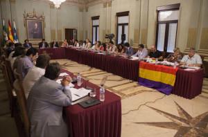 Pleno de julio del Ayuntamiento de Huelva.