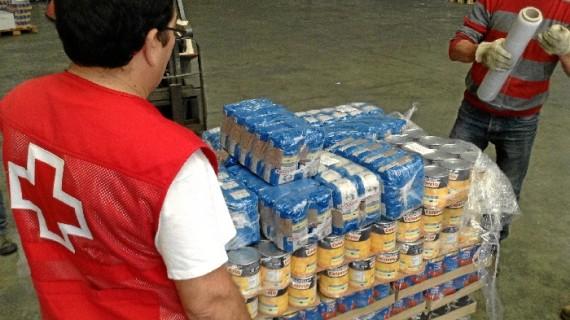 Distribuidos en Huelva más de 471.000 kilos de alimentos entre más de 26.000 familias desfavorecidas