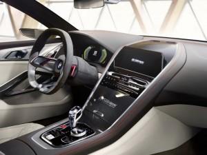 Interior del BMW serie 8.