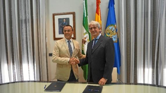 Diputación y Fundación Cepsa firman un convenio de colaboración para las actividades de verano en La Rábida