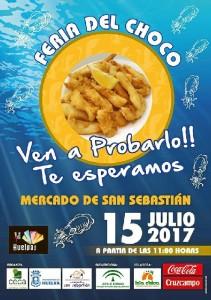 Cartel de la Feria del Choco.