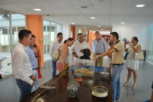 Los empresarios colombianos han conocido la lonja de Punta Umbría.