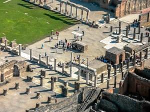 Pompeya fue descubierta en el siglo XVIII. / Foto: italia.it.