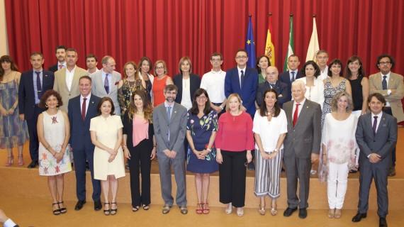 Toma posesión el nuevo equipo de gobierno de la Universidad de Huelva