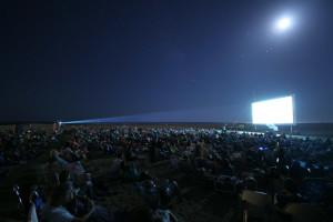 Cine de verano en las playas de Ayamonte.