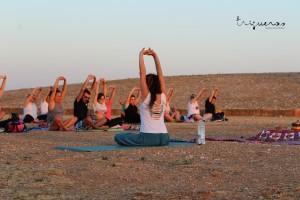 Un lugar único para practicar Yoga.