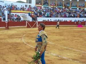 El Cordobés salió a hombros en la Corrida de Toros de la Feria de Aracena.