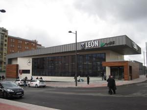 La nueva estación de Las Metas tendrá un aspecto similar a la estación de León. / Foto: Rubén Ojeda.