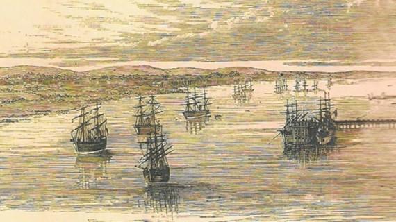 Esponsales de Huelva con el mar