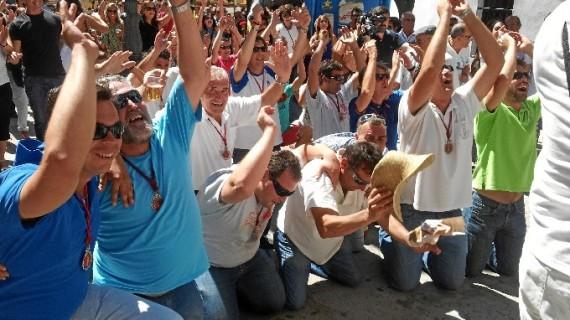 Beas vive con intensidad sus capeas y Fiestas en honor a San Bartolomé