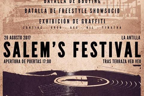 La Antilla vuelve a acoger el Salem's Festival 2017 con Emilio Sinclair como cabeza de cartel