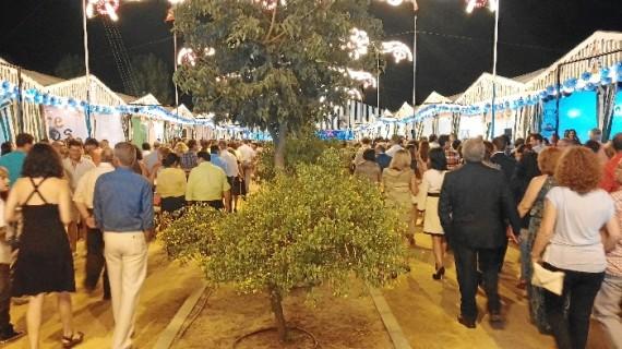 Villarrasa inmersa en sus fiestas dedicadas a Nuestra Señora del Remedio