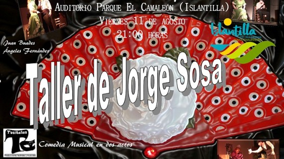 El auditorio al aire libre de Islantilla ofrece el espectáculo teatral 'Las rosas del querer'