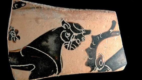 Hallazgos de piezas griegas en el centro onubense reflejan el intenso comercio de esta civilización con el mundo tartesio