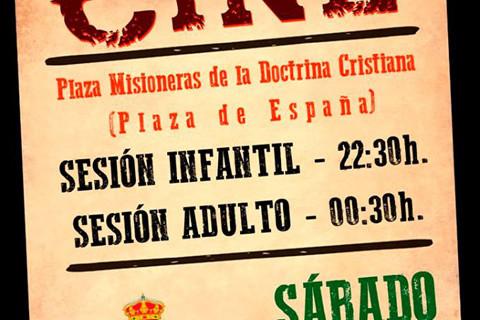 Música y cine para las noches de verano en Villalba del Alcor
