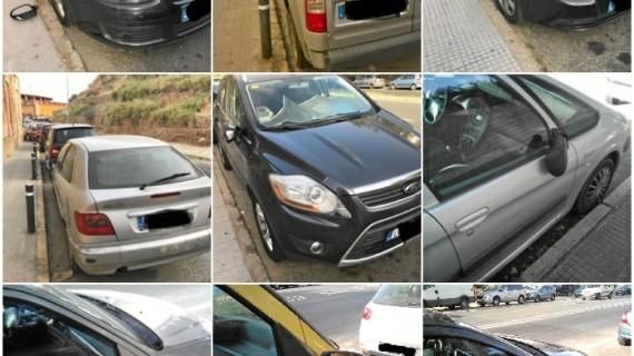 Detenido el autor de daños en 17 vehículos en la zona de la Cuesta del Carnicero