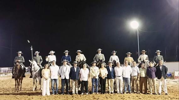 El XIX Concurso Nacional de Doma Vaquera atrae al Rocío a más de 2.500 espectadores