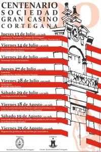 Cortegana centenario. Cartel de las Jornadas.