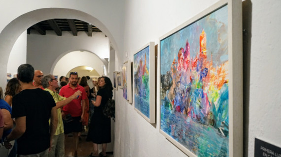 La obra de Dani Franco se expone en la Casa Grande de Ayamonte
