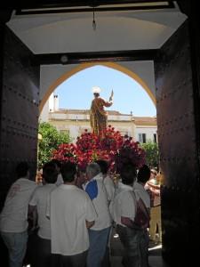 La Asociación Piadosa de San Bartolomé vive intesamente el día del Patrón.