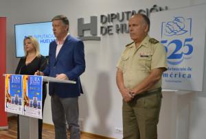 El acto fue presentado en la Diputación de Huelva.