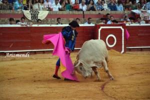 Sebastián Castella, en los primeros lances de su