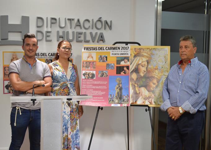 Punta Umbría celebra la Feria en honor a la Virgen del Carmen