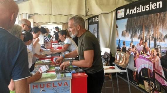 El destino Huelva despliega su oferta en 'Ribera de los Museos' de Frankfurt, con 2,6 millones de visitantes