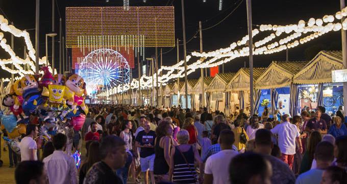 Las Colombinas 2017 finalizan con una afluencia histórica de 240.000 visitas