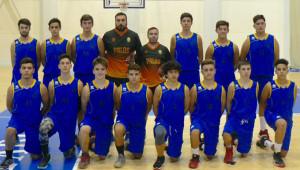 Los jugadores del equipo junior.