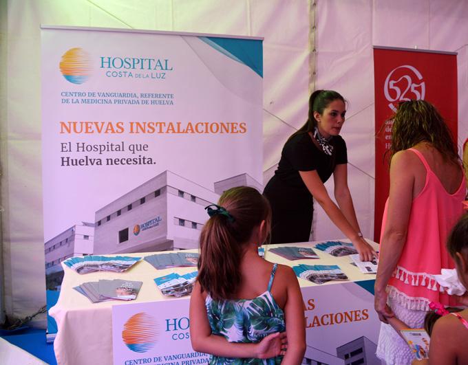 El Hospital Costa de la Luz dio a conocer sus nuevas instalaciones en la feria empresarial 'Descubre Huelva'