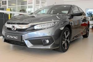 El nuevo Honda Civic auna elegancia y caracter deportivo. / Foto: L.C.