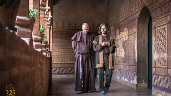 Actores onubenses dan vida a los protagonistas del 'Descubrimiento'